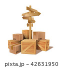 BOX ボックス 木箱のイラスト 42631950