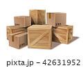 BOX ボックス 木箱のイラスト 42631952