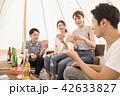 キャンプ テント ティピ 42633827