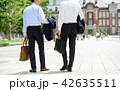 ビジネスマン TOKYO ビジネスイメージ 42635511