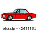 自動車 クーペ 車のイラスト 42636361