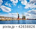 クレーン 港 貨物の写真 42638826
