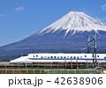 富士山 新幹線 東海道新幹線の写真 42638906