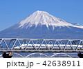 富士山 東海道新幹線 700系の写真 42638911