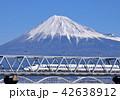 富士山 東海道新幹線 N700系の写真 42638912