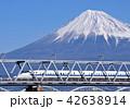 富士山 東海道新幹線 700系の写真 42638914