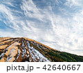 火山 阿蘇山 雲の写真 42640667