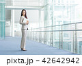 ビジネスウーマン ビジネス 廊下の写真 42642942
