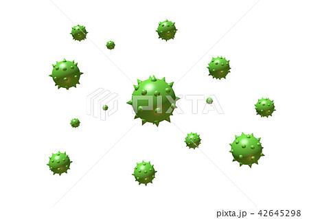 花粉イメージ(花粉症などに) 42645298