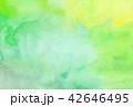 水彩 にじみ テクスチャーのイラスト 42646495