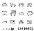 ベクトル 車 自動車のイラスト 42646653