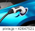 エレクトリック 車 自動車のイラスト 42647521