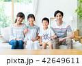 家族 親子 リビングの写真 42649611