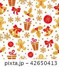 クリスマス パターン 柄のイラスト 42650413