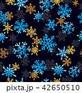 スノーフレーク 雪片 雪花のイラスト 42650510