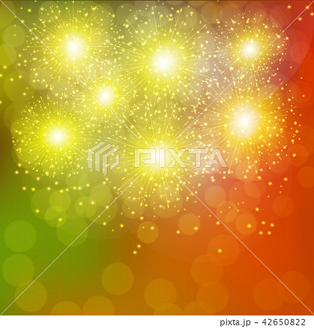 festive gold background のイラスト素材 42650822 pixta
