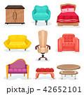 ベクター 家具 椅子のイラスト 42652101