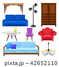 ベクター 家具 椅子のイラスト 42652110