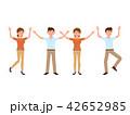 漫画 キャラクター 文字のイラスト 42652985