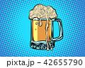 ビール マグカップ パブのイラスト 42655790