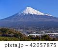 風景 富士山 山の写真 42657875