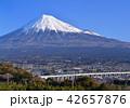 風景 富士山 山の写真 42657876