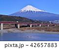 東名高速道路と富士山-6663 42657883