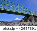 県道富士川橋と富士山-6672 42657891