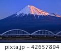 富士山 世界文化遺産 水管橋の写真 42657894