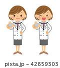 医師 女医 女性のイラスト 42659303
