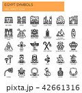 Egypt Symbols , Thin Line and Pixel Perfect Icons 42661316