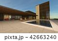 プール付き住宅 42663240