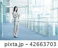 タブレット ビジネスウーマン ビジネスの写真 42663703
