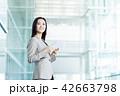 タブレット ビジネスウーマン ビジネスの写真 42663798