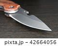 アウトドアナイフの刃 42664056