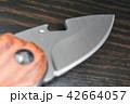 サバイバルナイフの刃 42664057