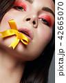 化粧 目 顔の写真 42665070