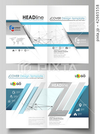 business templates for bi fold brochure flyer report cover design