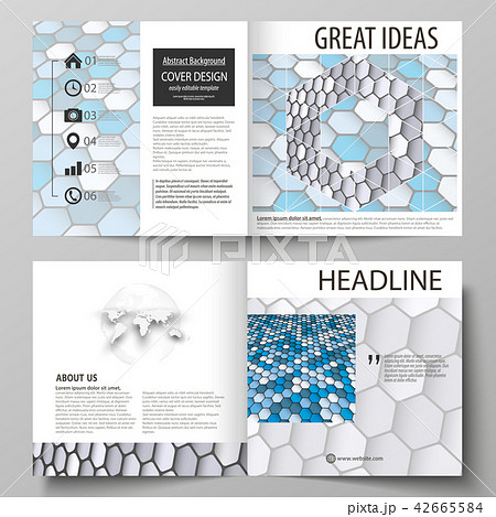 business templates for square design bi fold brochure flyer