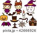 ハロウィン 魔法使い ジャックオーランタンのイラスト 42666926