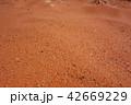 バレー オブ ファイヤー州立公園 赤い砂の地面 42669229