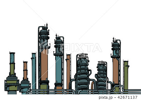 chemical plant, oil refining 42671137