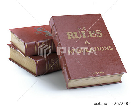 Rules and regulations books with instructions 42672202