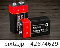 電池 バックグラウンド バックグランドのイラスト 42674629