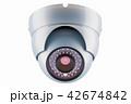 防犯カメラ 中央電視台 セキュリティのイラスト 42674842