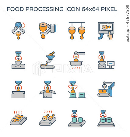 food processing icon 42677809