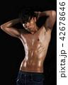 筋肉 マッスル 男性の写真 42678646