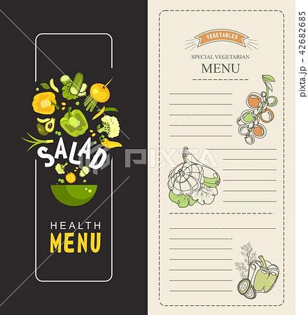 vertical special menu 42682685