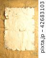 古紙 紙 古いの写真 42683103