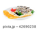 fish with vegetables and olives 42690238
